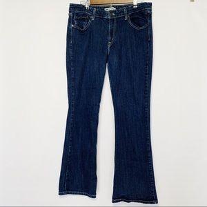 Levi's Dark Wash 518 Super Low Jeans Dark Wash